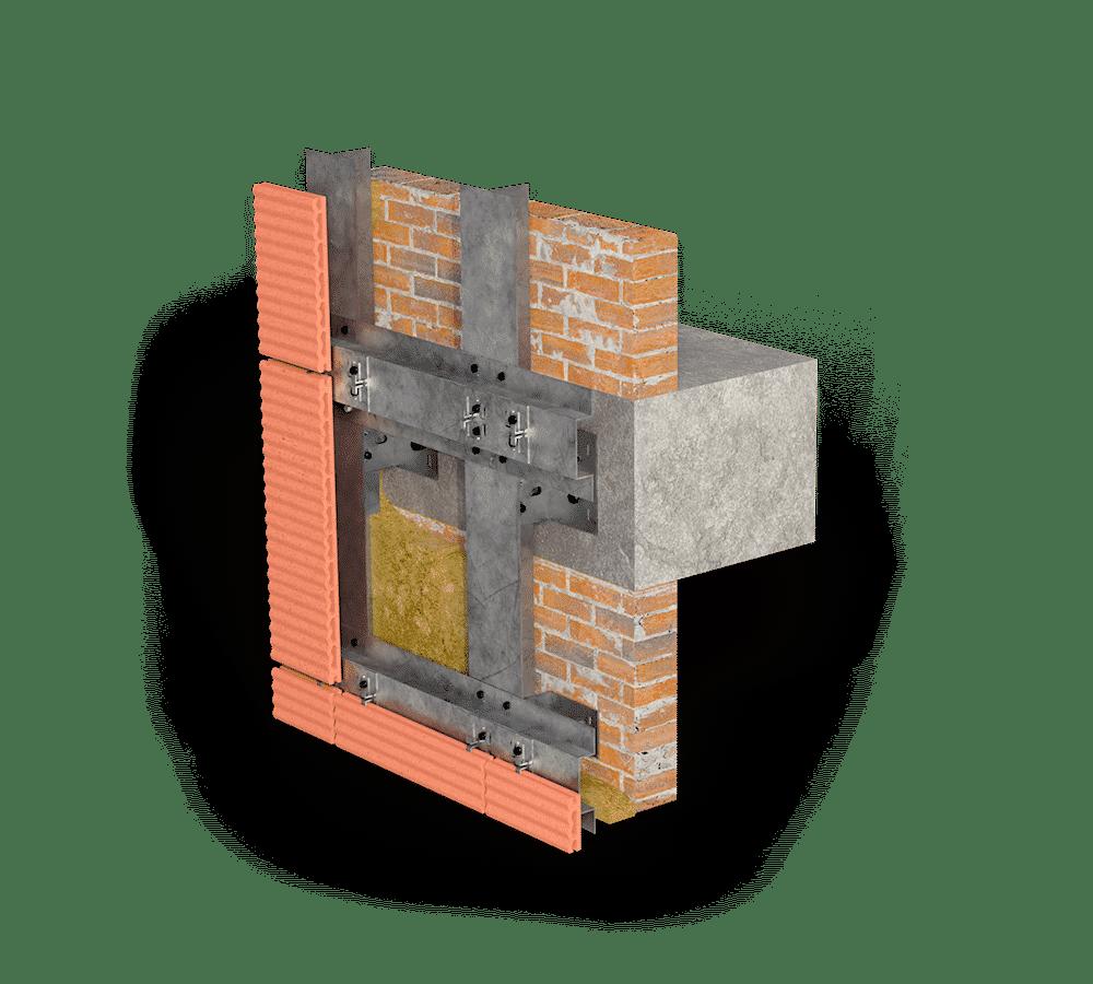 Комбинированная система крепления