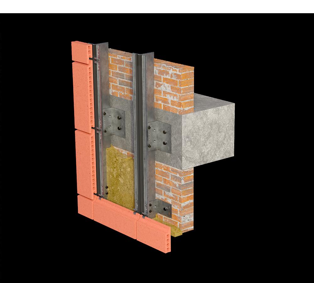Система вертикальных направляющих
